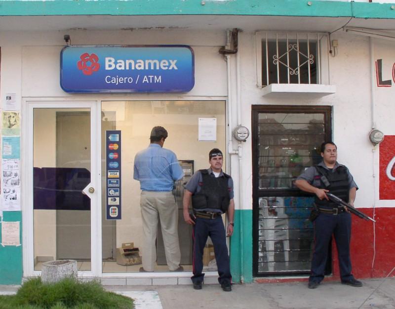 Banamex: Banamex ATM Machine, Barra De Navidad