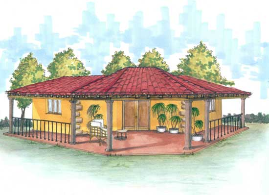 Housingmodela Mexican House Designs And Floor Plans House Plans On Mexican House Plans House Plan