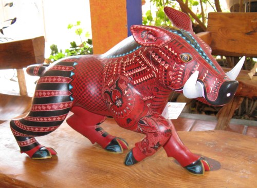 A rich wood carving tradition in Oaxaca, Mexico